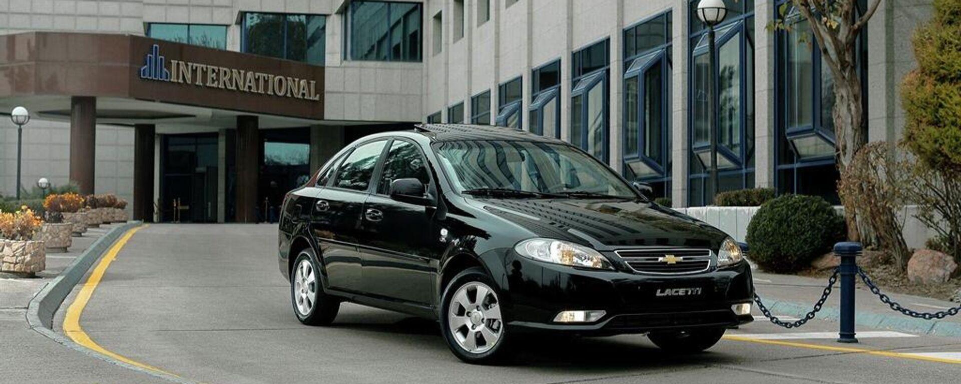 АО UzAuto Motors объявляет о старте продаж четырех моделей бренда Chevrolet –Spark, Cobalt, Nexia и Lacetti в Таджикистане  - Sputnik Ўзбекистон, 1920, 03.10.2021