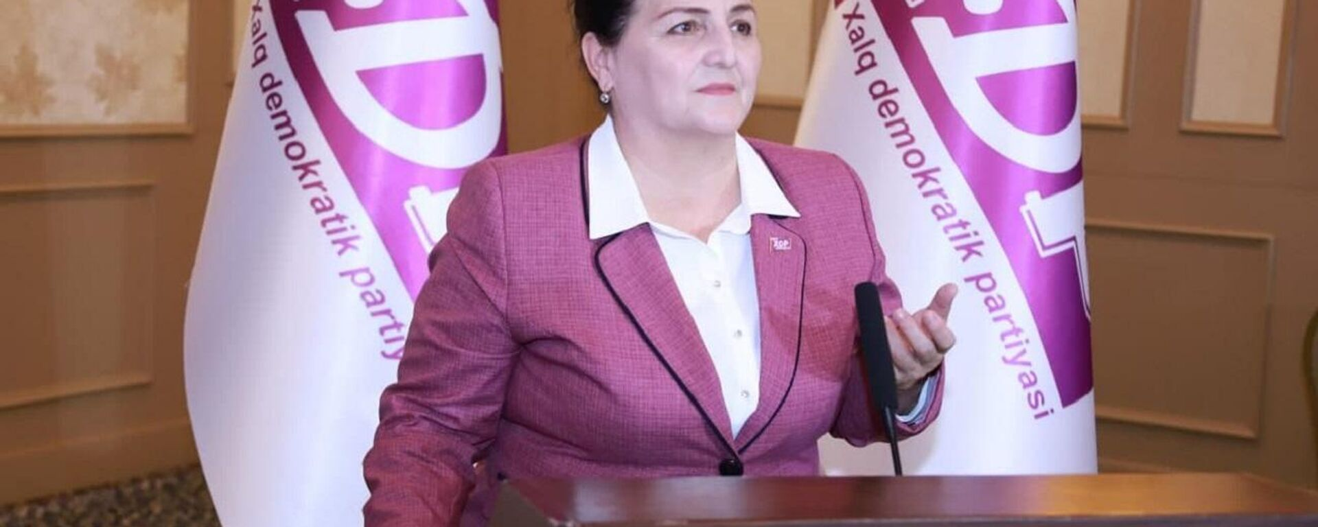 Kandidat v prezidentы Uzbekistana ot NDPU Maksuda Vorisova - Sputnik Oʻzbekiston, 1920, 06.09.2021