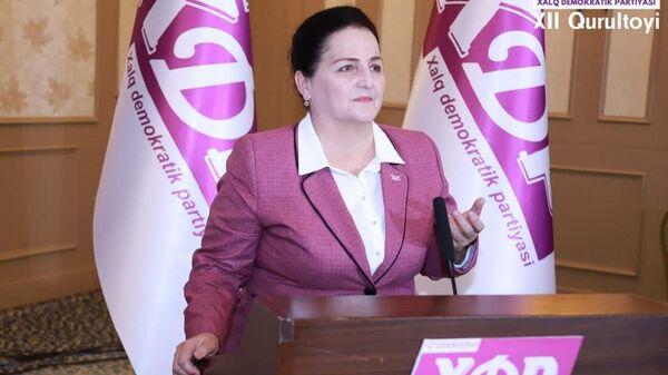 Kandidat v prezidentы Uzbekistana ot NDPU Maksuda Vorisova - Sputnik Oʻzbekiston