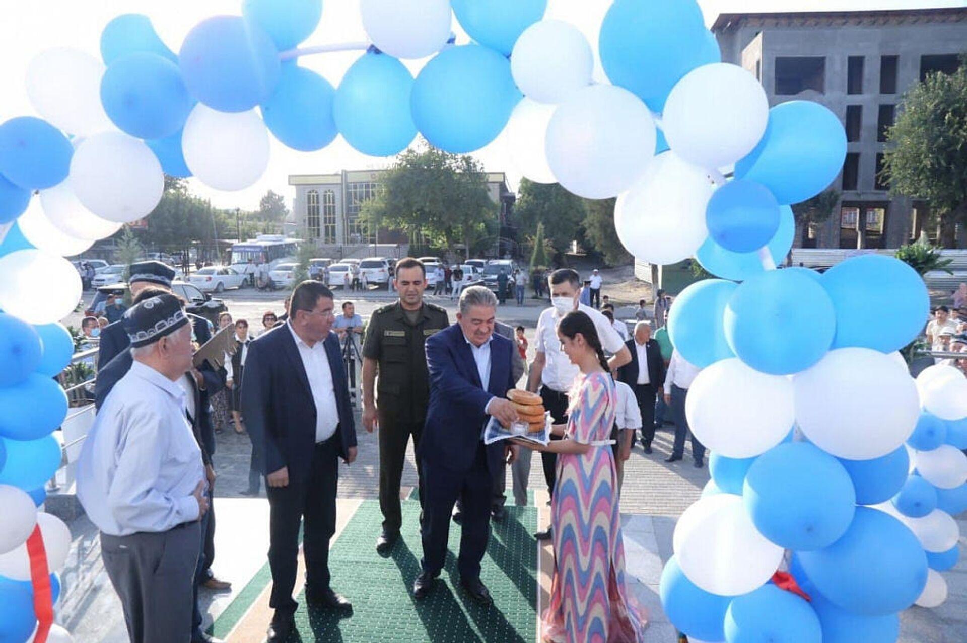 Новый ж/д вокзал открыли в Сурхандарьинской области - Sputnik Узбекистан, 1920, 06.09.2021