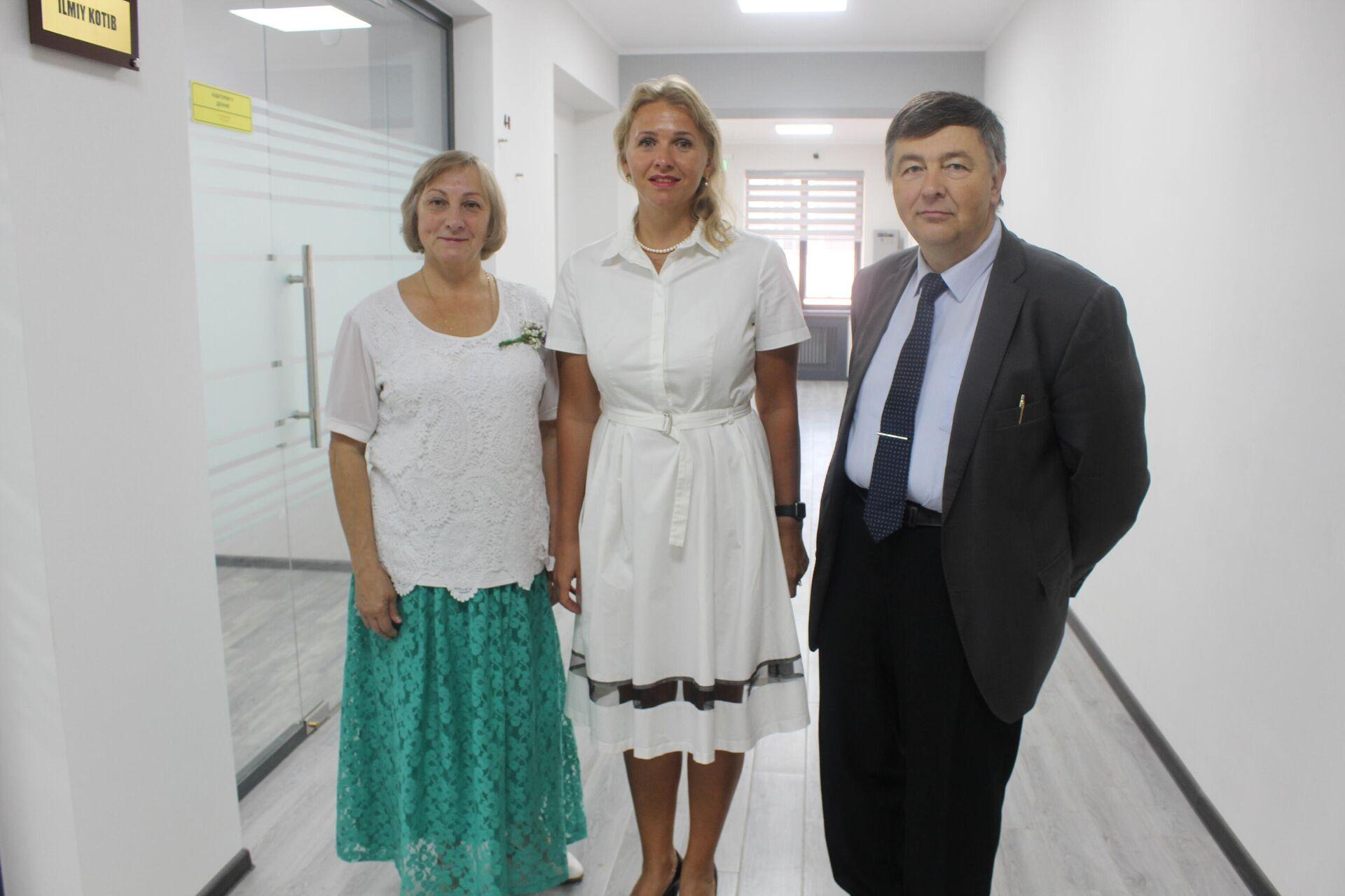 Otkrыtiye filiala RGPU im. Gertsena v Tashkente  - Sputnik Oʻzbekiston, 1920, 07.09.2021