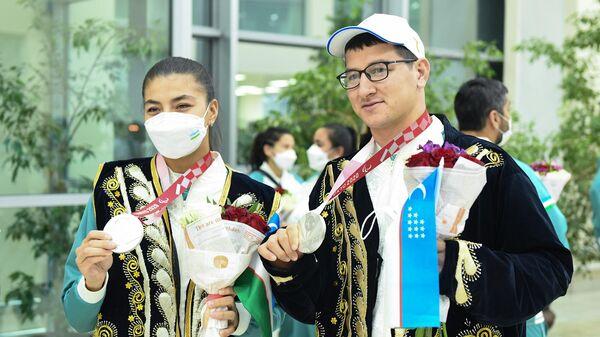 Встреча призеров и чемпионов токийской Паралимпиады в Ташкенте - Sputnik Ўзбекистон