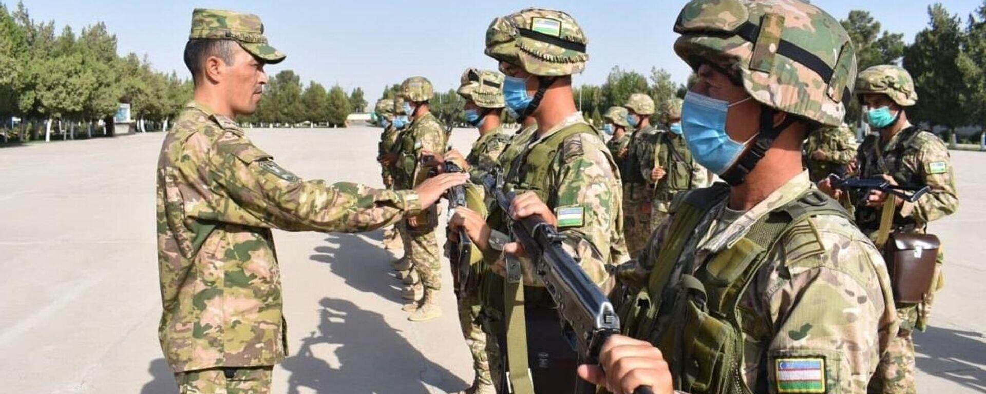 Силы ПВО Узбекистана проводят учебные сборы на границе с Афганистаном - Sputnik Ўзбекистон, 1920, 07.09.2021