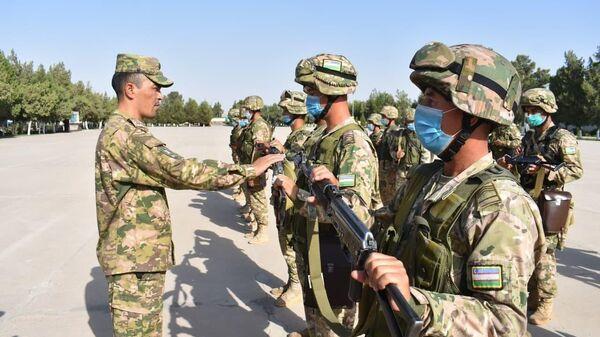 Силы ПВО Узбекистана проводят учения на границе с Афганистаном - Sputnik Узбекистан