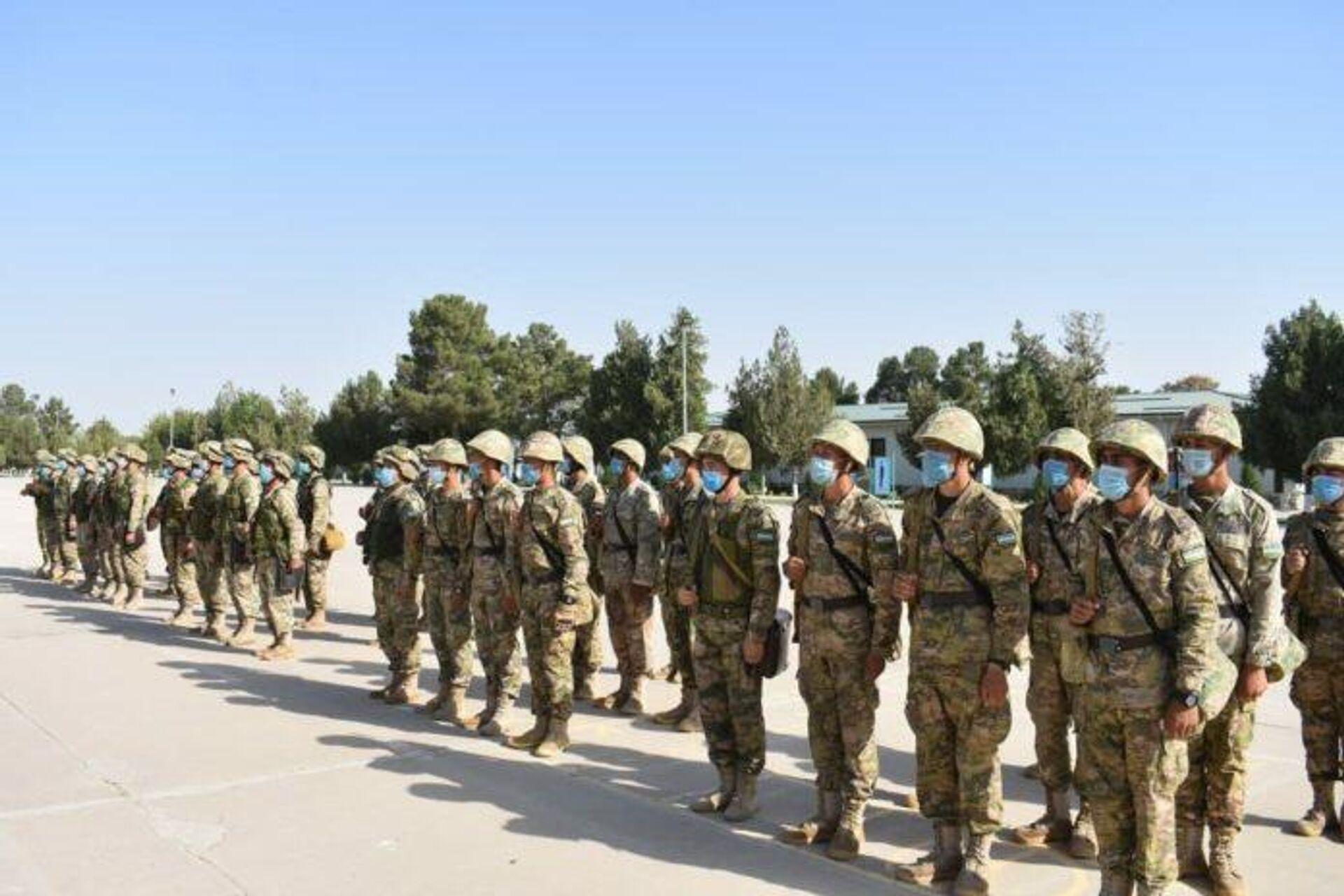 Силы ПВО Узбекистана проводят учения на границе с Афганистаном - Sputnik Узбекистан, 1920, 07.09.2021