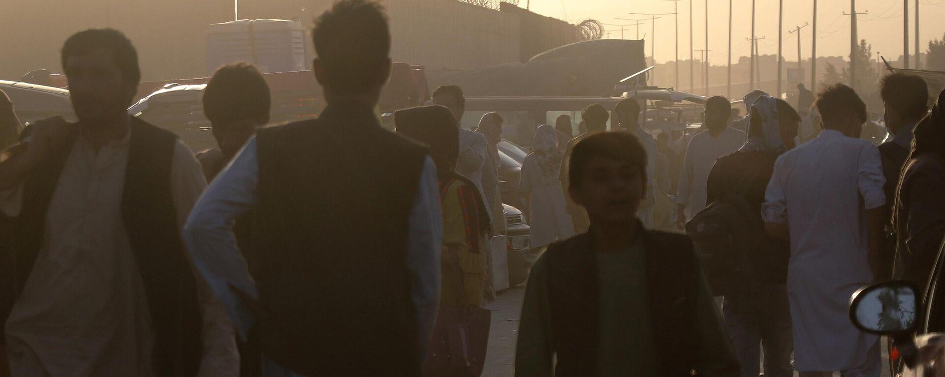 Ситуация у аэропорта Кабула - Sputnik Ўзбекистон, 1920, 15.09.2021