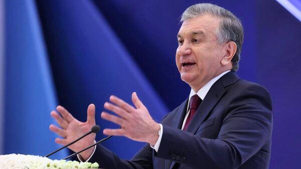 Шавкат Мирзиеев участвует в работе съезда Либерально-демократической партии Узбекистана  - Sputnik Узбекистан