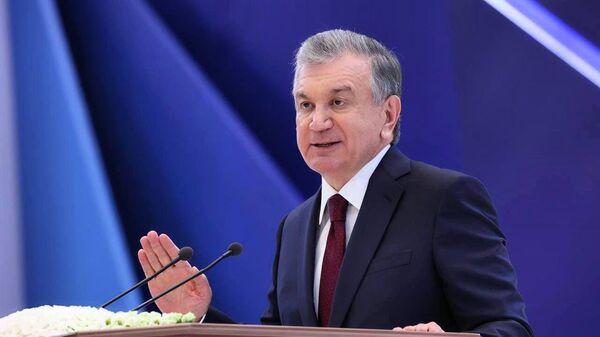 Shavkat Mirziyeyev uchastvuyet v rabote s'yezda Liberalno-demokraticheskoy partii Uzbekistana  - Sputnik Oʻzbekiston