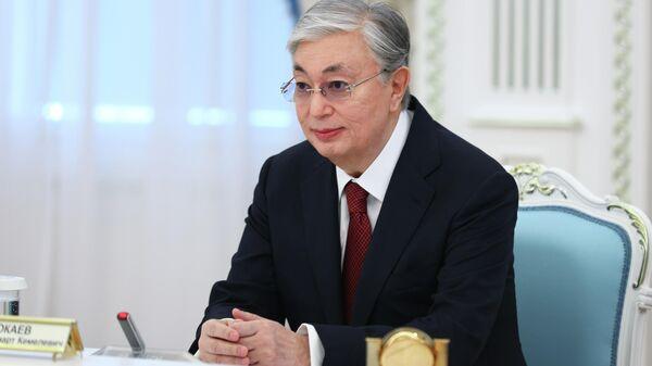 Prezident Kazaxstana Kasыm-Jomart Tokayev - Sputnik Oʻzbekiston