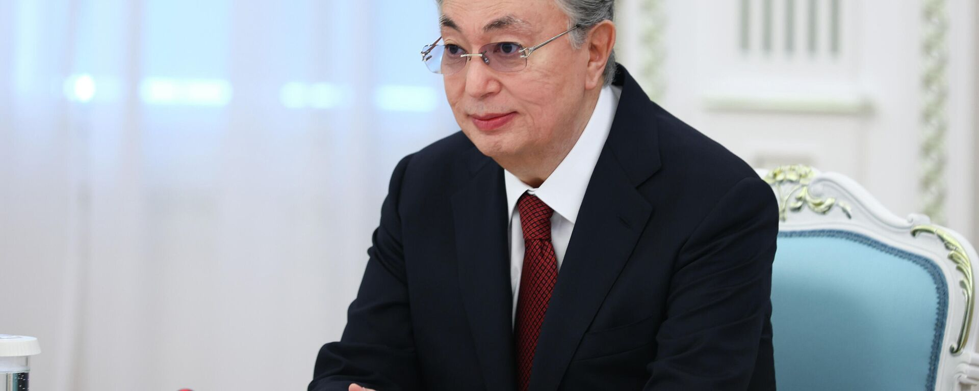 Prezident Kazaxstana Kasыm-Jomart Tokayev - Sputnik Oʻzbekiston, 1920, 09.09.2021