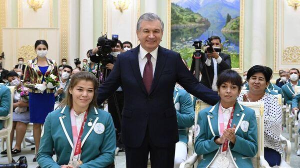 Shavkat Mirziyoyev pozdravil paralimpiytsev - Sputnik Oʻzbekiston