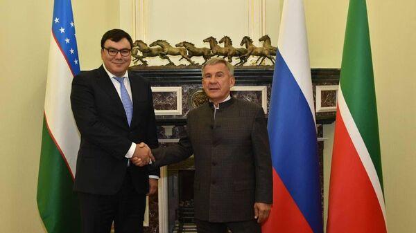 Delegatsiya vo glave s Azizom Abduhakimovыm posetila Tataristan - Sputnik Oʻzbekiston