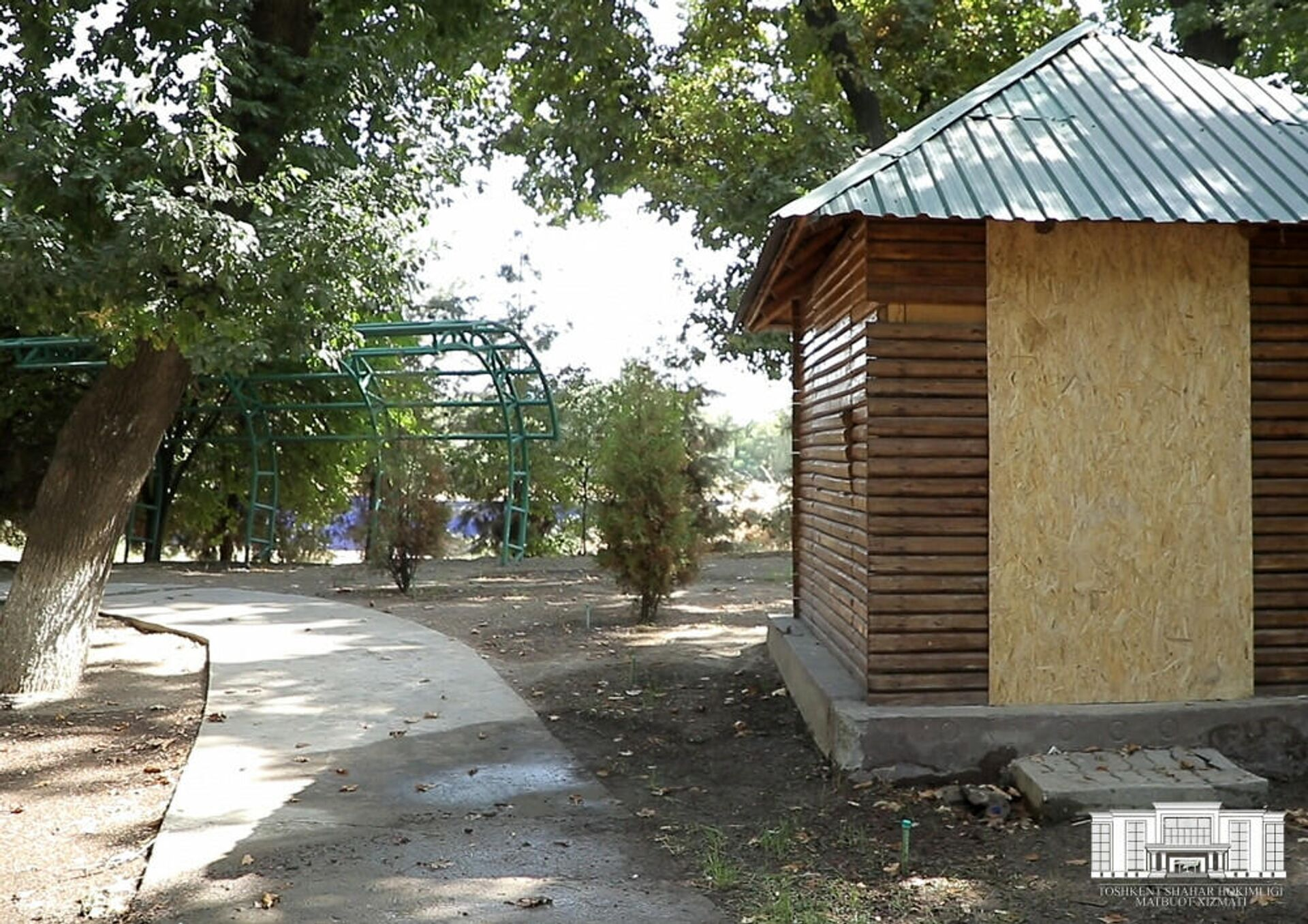 Реконструкция парка им. Абдуллы Кадыри - Sputnik Узбекистан, 1920, 11.09.2021