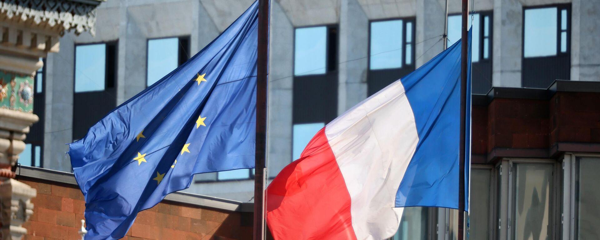Флаг Франции - Sputnik Ўзбекистон, 1920, 18.09.2021