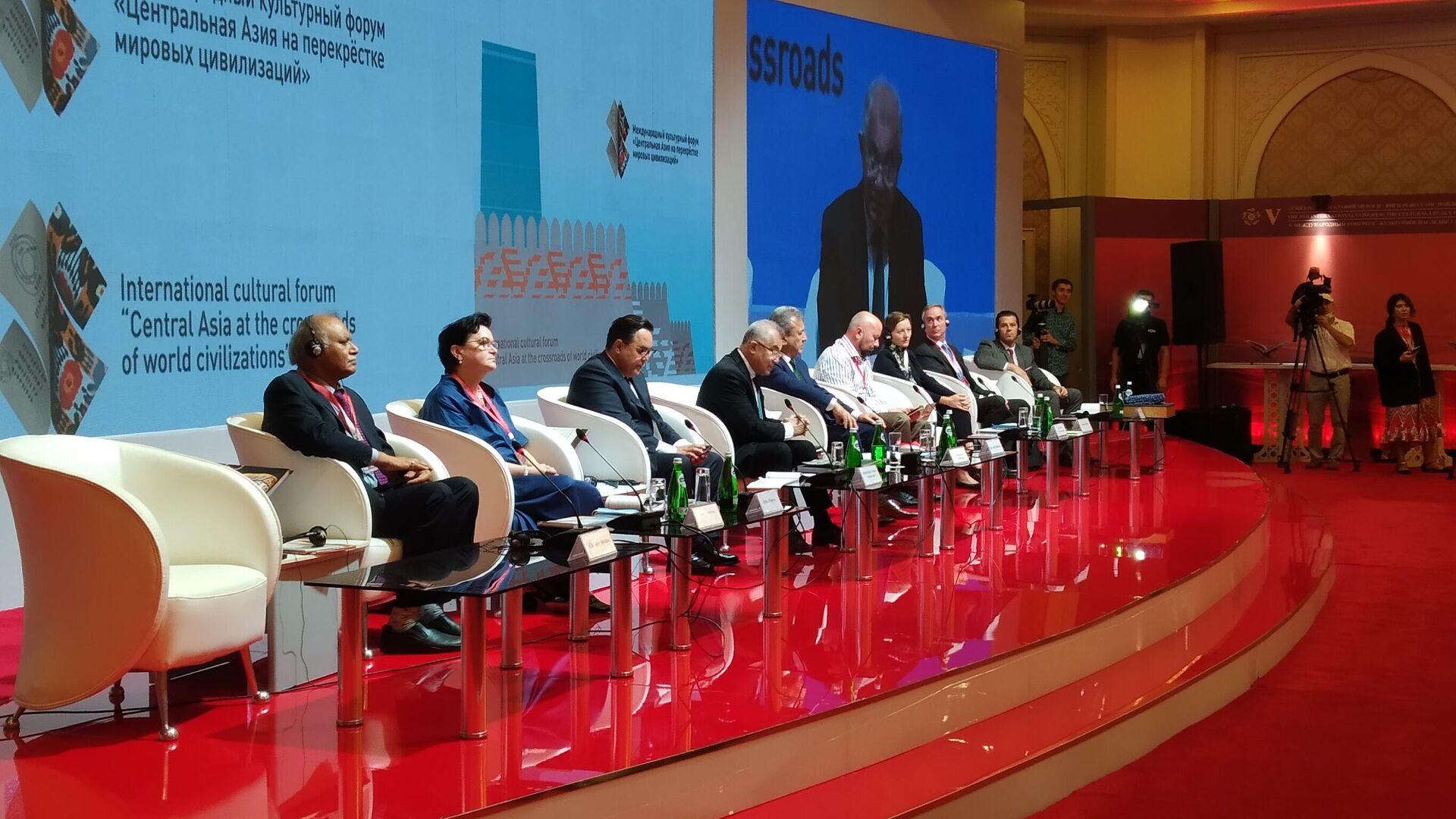 В Ташкенте стартовал V Международный конгресс Культурное наследие Узбекистана - фундамент нового Ренессанса - Sputnik Узбекистан, 1920, 13.09.2021