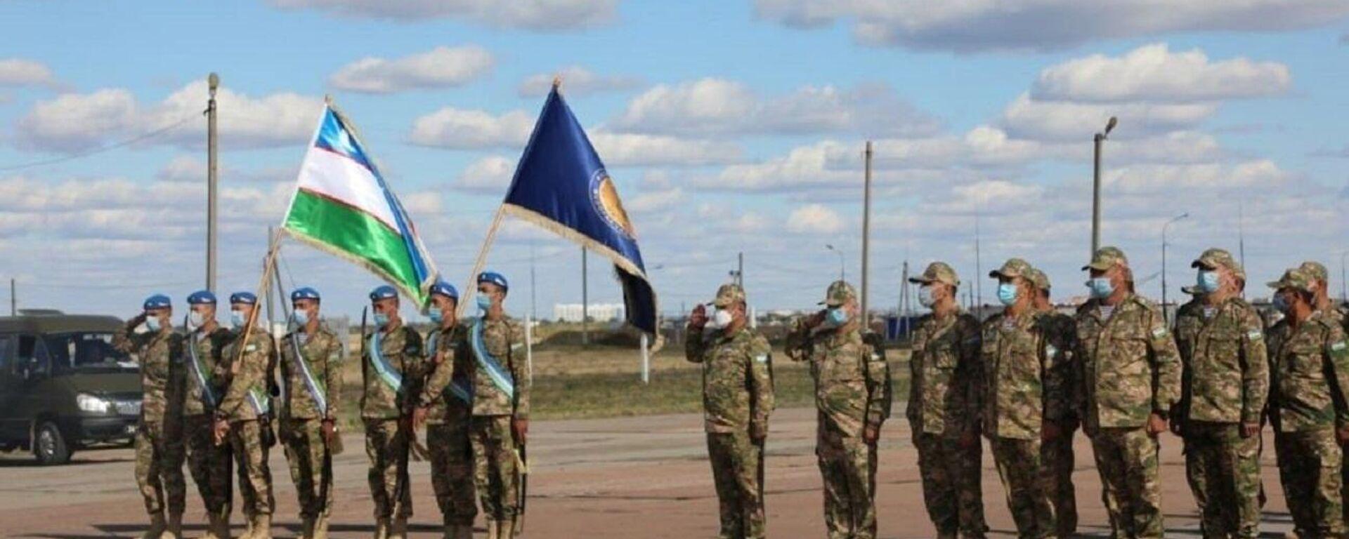 Военные Узбекистана участвуют в учениях стран ШОС Мирная миссия - Sputnik Ўзбекистон, 1920, 13.09.2021