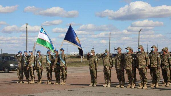 Voyennыe Uzbekistana uchastvuyut v ucheniyax stran SHOS Mirnaya missiya - Sputnik Oʻzbekiston