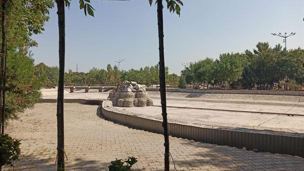 Бывший парк культы и отдыха Янги Сергели - Sputnik Узбекистан
