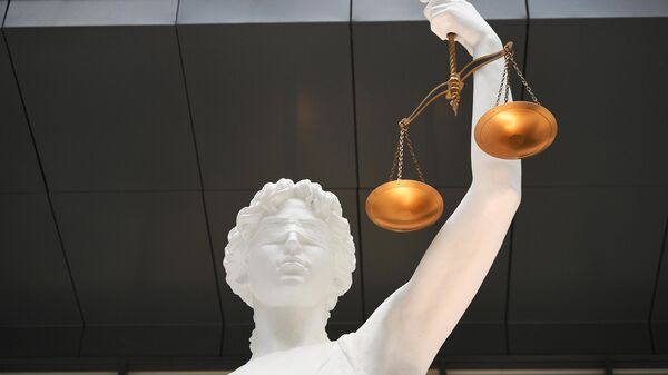 Статуя Фемиды  - Sputnik Ўзбекистон