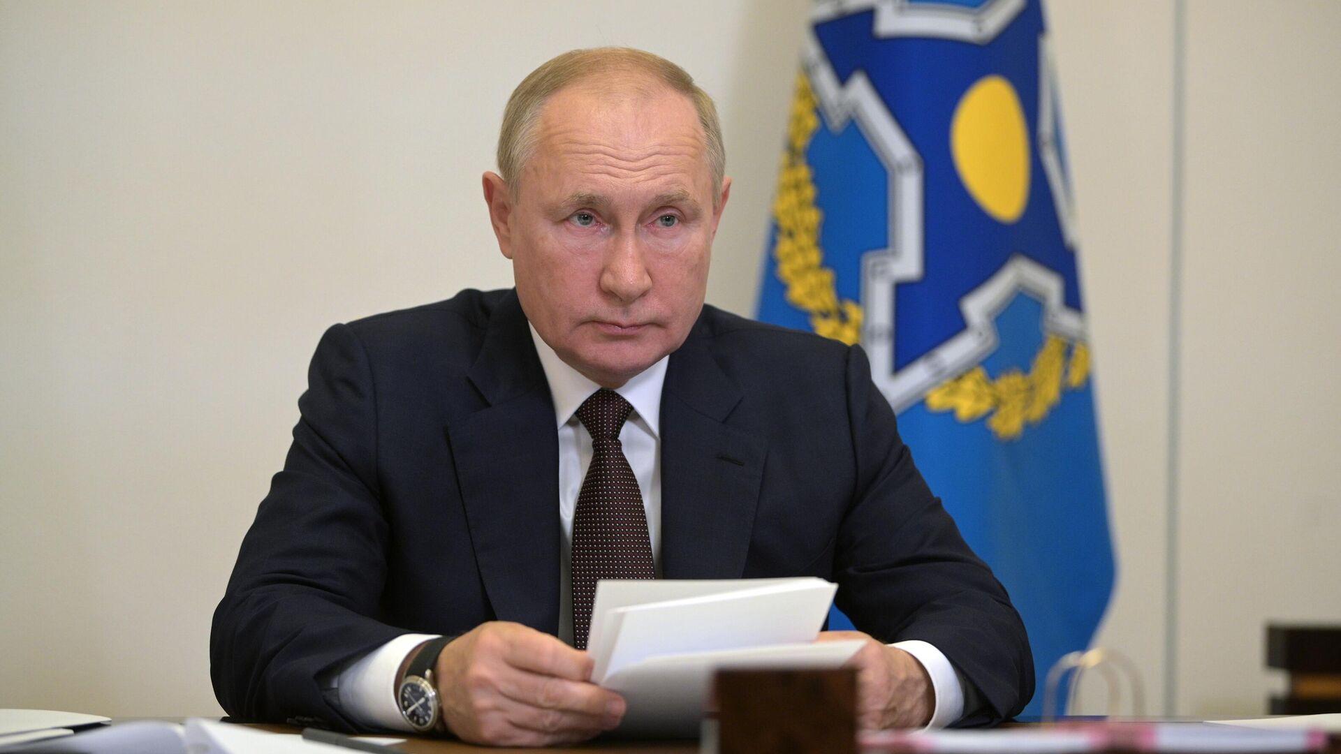 Президент РФ Владимир Путин - Sputnik Ўзбекистон, 1920, 16.09.2021