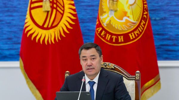 Prezident Kыrgыzstana Sadыr Japarov  - Sputnik Oʻzbekiston