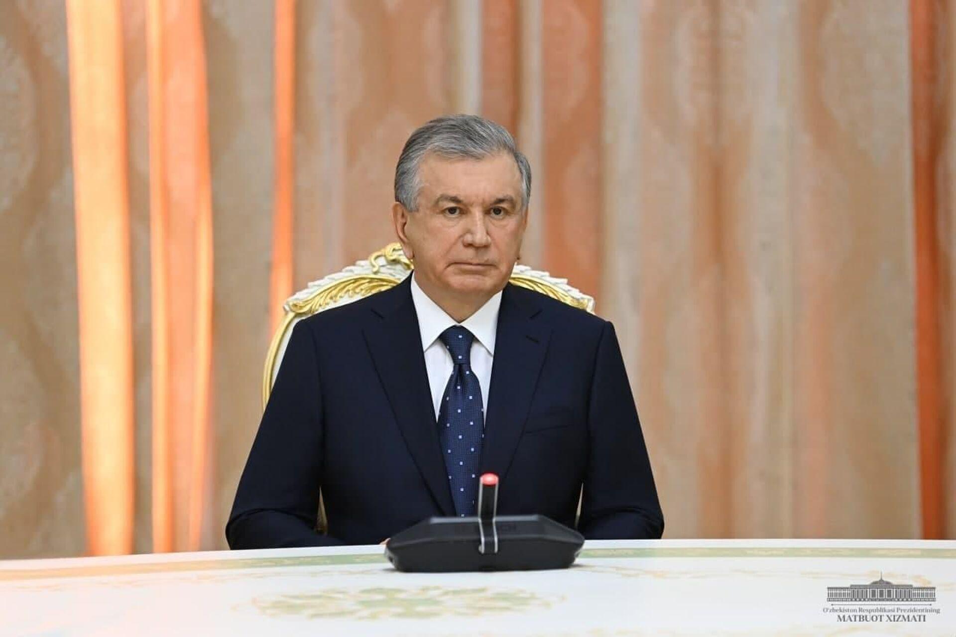 Лидеры Узбекистана и Таджикистана провели встречу в Душанбе - Sputnik Узбекистан, 1920, 16.09.2021