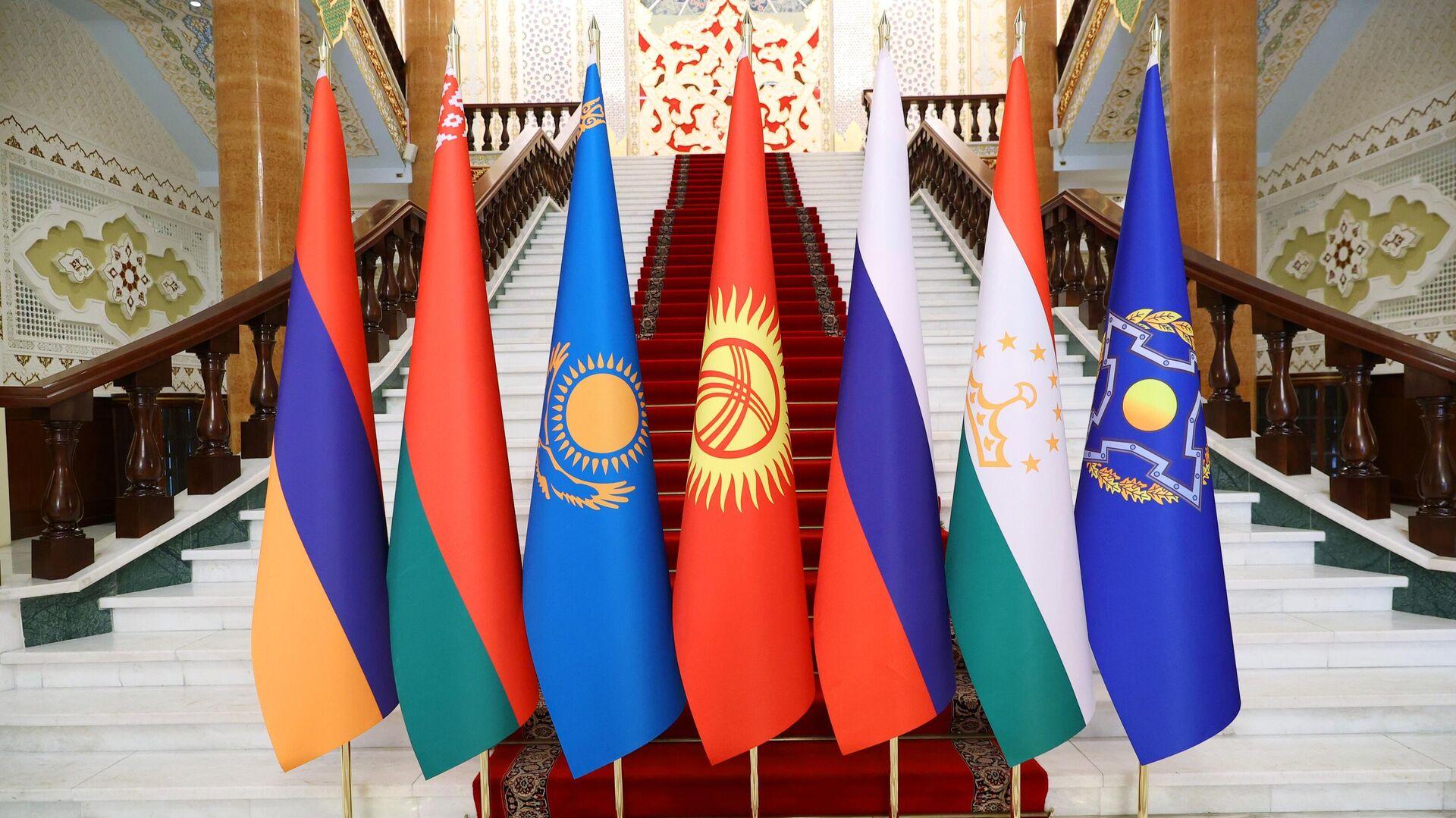Заседание Совета коллективной безопасности ОДКБ - Sputnik Узбекистан, 1920, 20.09.2021