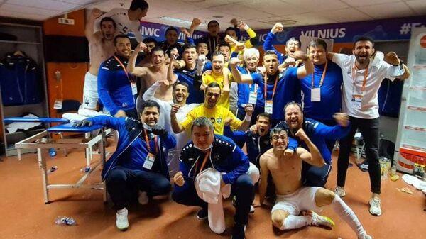 Узбекистан впервые в истории вышел в плей-офф чемпионата мира по футзалу - Sputnik Ўзбекистон