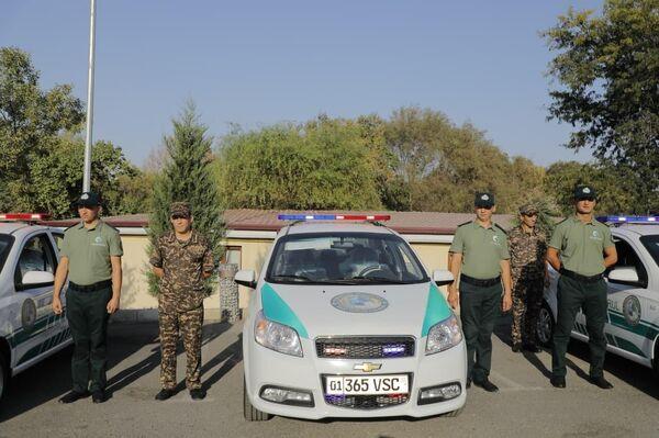 В Ташкенте презентовали служебные автомобили для экополиции  - Sputnik Ўзбекистон