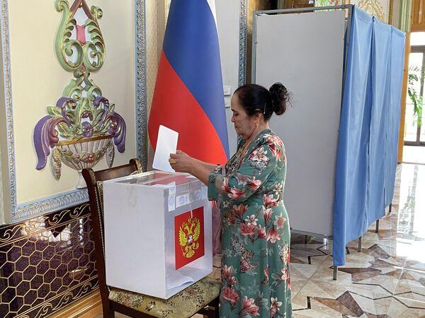 Голосование организовано с соблюдением всех необходимых санитарно-эпидемиологических мер. - Sputnik Узбекистан