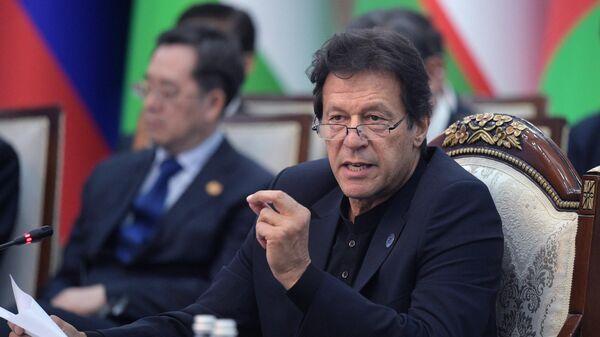 Премьер-министр Пакистана Имран Хан - Sputnik Ўзбекистон