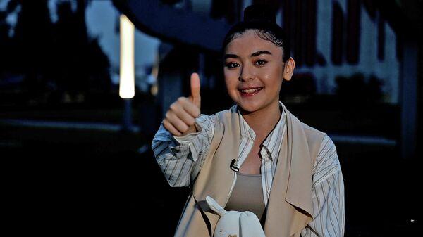 Ширин Абдуллаева - участница проекта Ты Супер! от Узбекистана - Sputnik Ўзбекистон