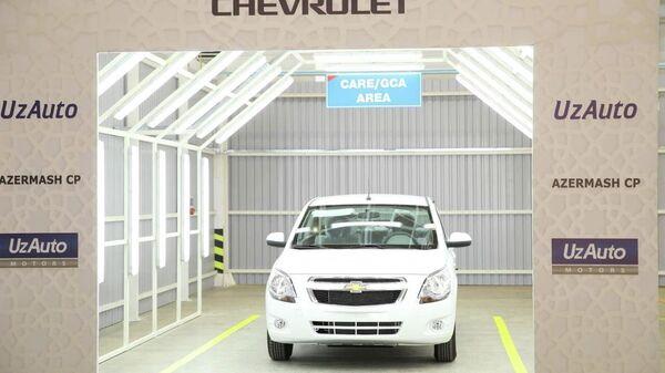 В городе Гаджигабул Азербайджана состоялось торжественное открытие производственной линии АО UzAuto Motors и СП ООО СамАвто.  - Sputnik Ўзбекистон