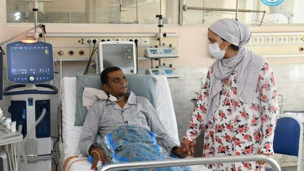 Пациент после трансплантации части печени - Sputnik Узбекистан