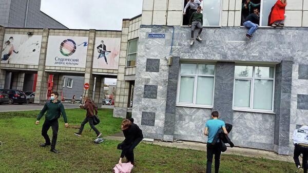 Strelba v universitete v Permi - Sputnik Oʻzbekiston