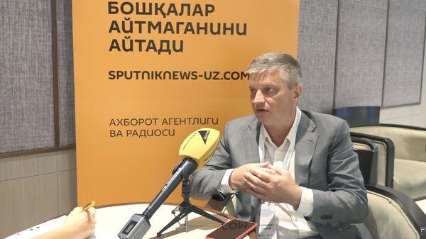 Безбородов: как Узбекистану стать логистическим хабом Центральной Азии — видео - Sputnik Узбекистан