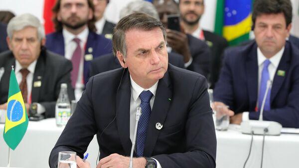 Президент Бразилии Жаир Болсонару - Sputnik Ўзбекистон