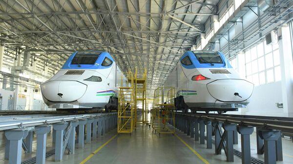Шестой по счету состав поезда Afrosiyob скоро прибудет в Ташкент - Sputnik Узбекистан