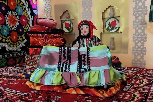 Izgotovleniye traditsionnыx kukol v Uzbekistane - Sputnik Oʻzbekiston