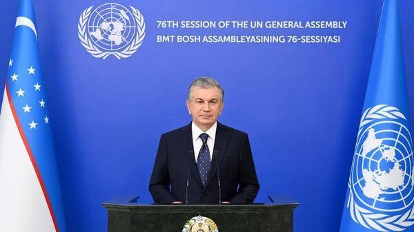 Штаб-квартира ООН в Нью-Йорке - Sputnik Узбекистан