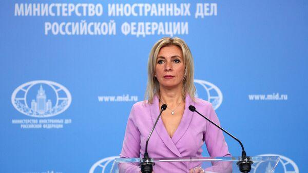 Официальный представитель Министерства иностранных дел РФ Мария Захарова  - Sputnik Ўзбекистон