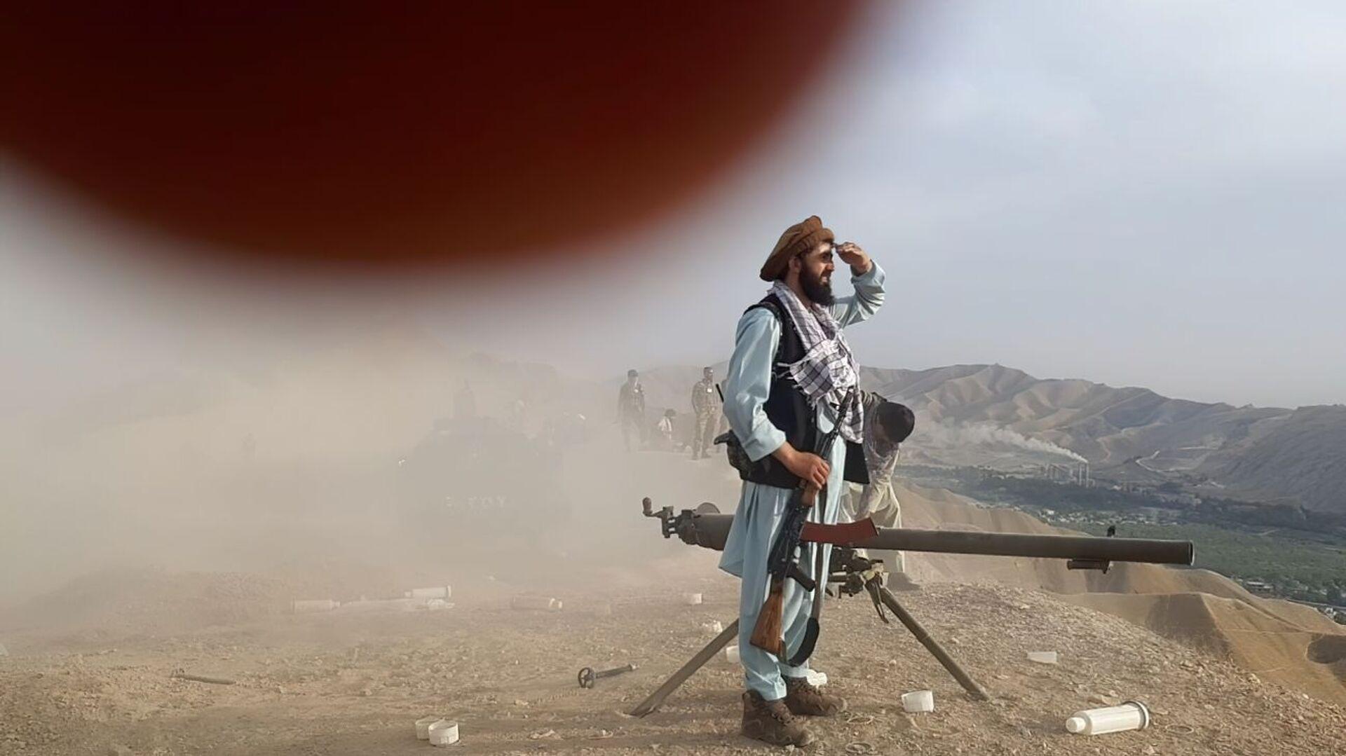 Силы сопротивления против талибов* в Андарабе, Афганистан - Sputnik Узбекистан, 1920, 22.09.2021