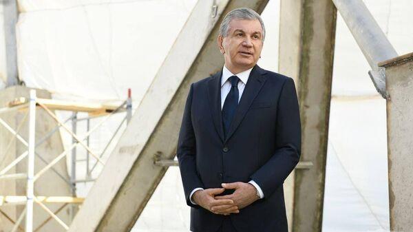 Мирзиёев посетил комплекс Джалолиддина Мангуберды - Sputnik Узбекистан