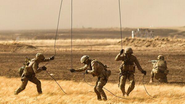 Антитеррористические учения стран – членов ШОС Мирная миссия  2021  - Sputnik Узбекистан