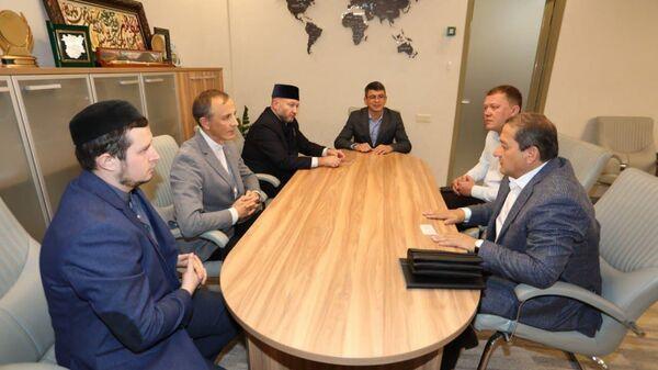 Визит делегации Международной исламской академии в Татарстан  - Sputnik Ўзбекистон