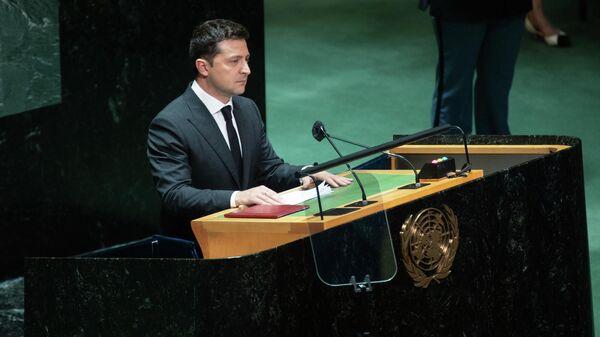 Президент Украины Владимир Зеленский - Sputnik Узбекистан
