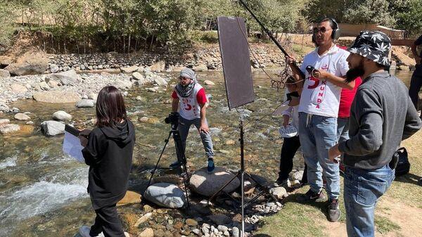 Съемочный процесс в рамках проекта Кино за пять дней - Sputnik Узбекистан