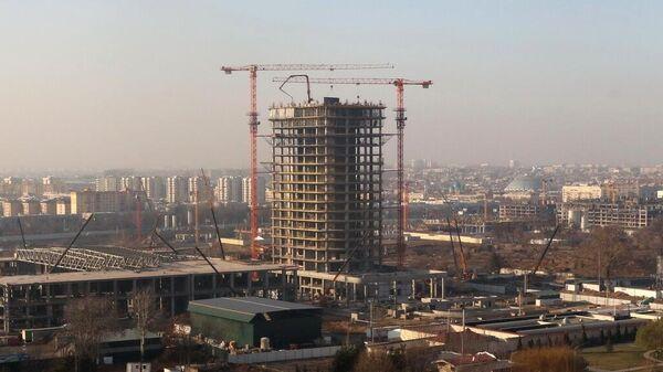 Строительство самого высокого здания в Ташкенте Nest One - Sputnik Ўзбекистон