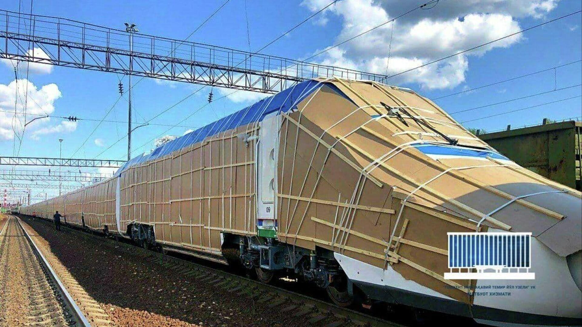 В Ташкент прибудет поезд Afrosiyob - Sputnik Узбекистан, 1920, 25.09.2021