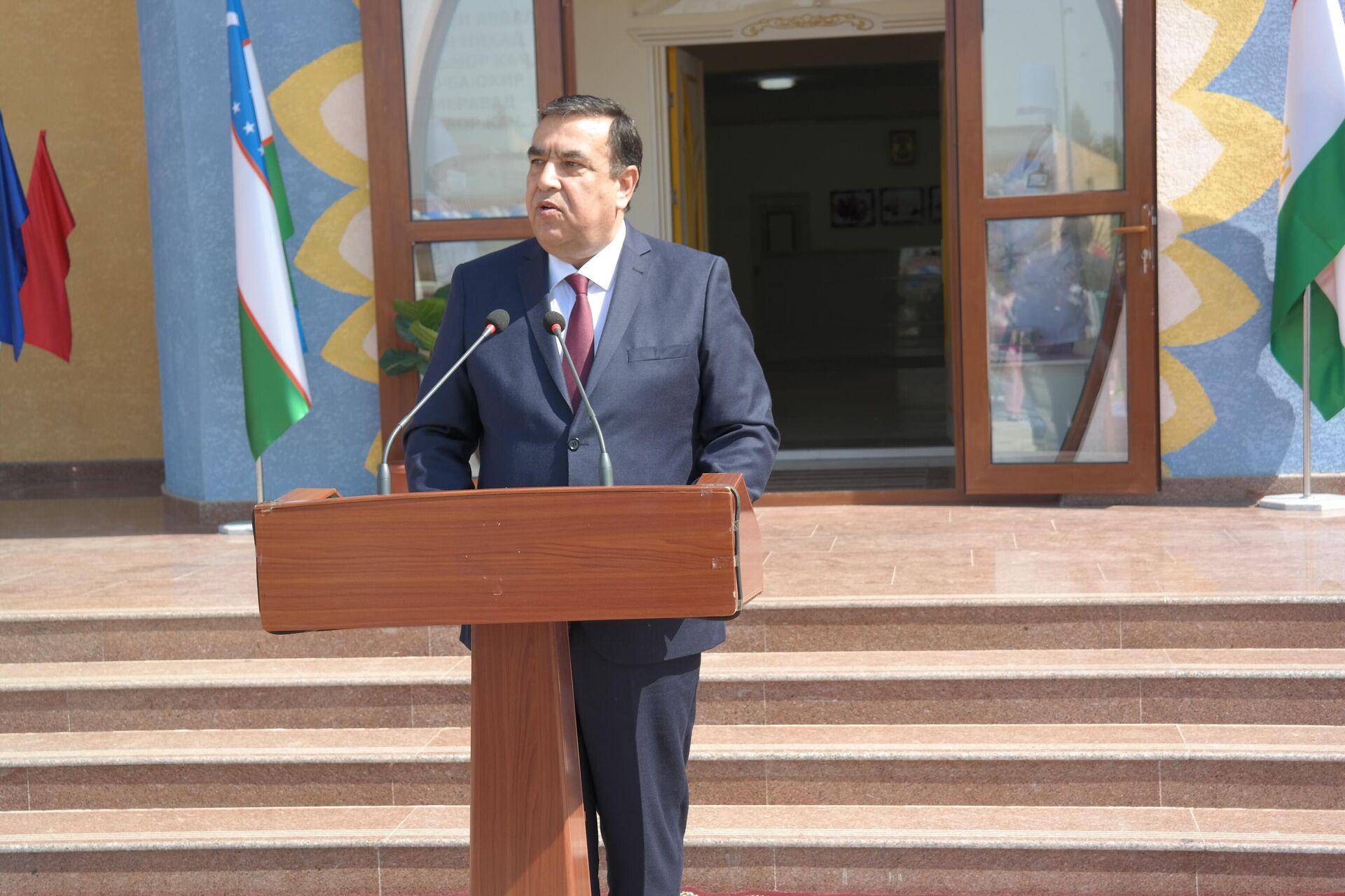 Посол Таджикистана в Узбекистане Абдуджаббор Рахмонзода  - Sputnik Ўзбекистон, 1920, 26.09.2021